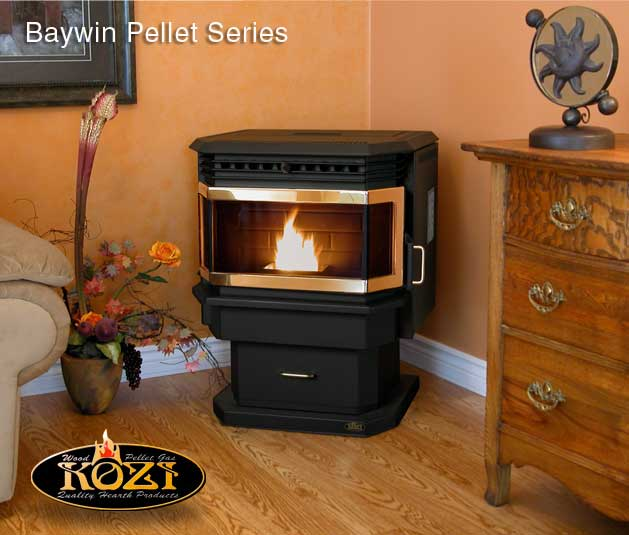 Baywin Pellet Stove BWI-GD