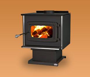 Model K2000 Wood Stove K2000-BD