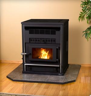 Model Shop Heater Pellet Stove KSH-120-DX