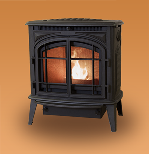 Model Previa Cast Iron Pellet Stove PRVS-PB