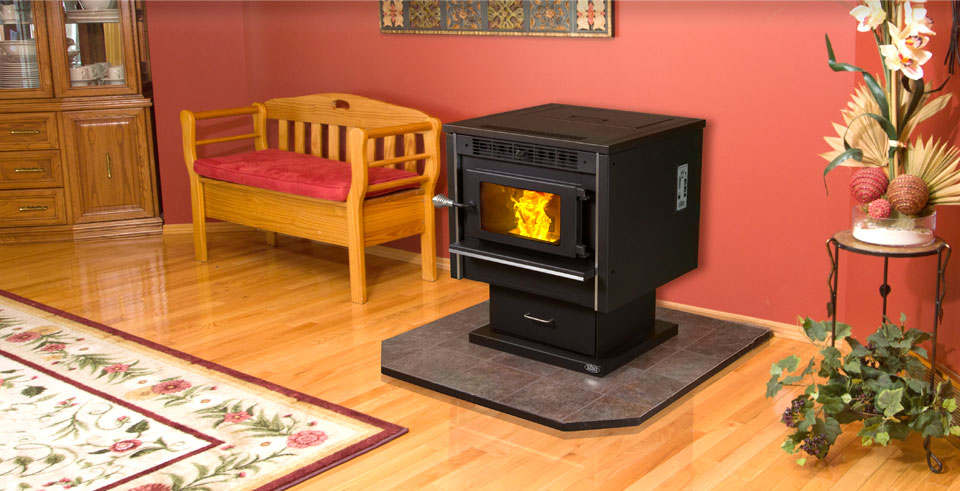 KOZI Model 100 Pellet Stove and Insert