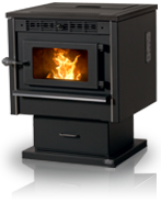 Model 100 XL Pellet Stove & Insert